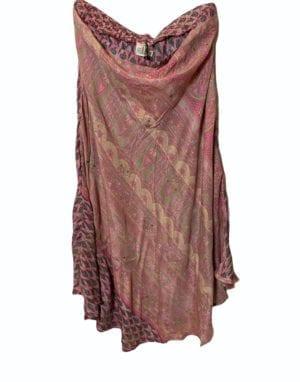 Skirt sarisilk M/L rose mix