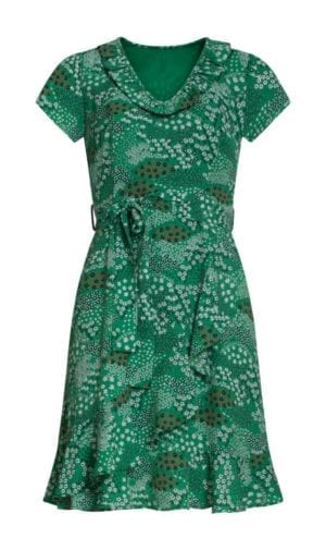 Dress Green chiffon 21053