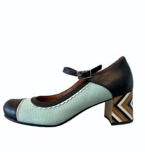 Adriana Shoes Mint/black Combi