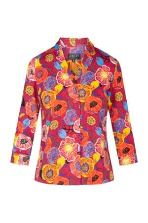 Shirt Blouse Flowerfield Blossom