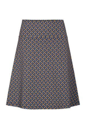 Skirt mosaic black/blue