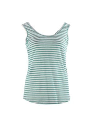 Top singlet Green/rose