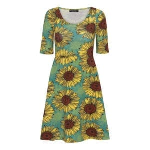 Betty Dress Sunflower