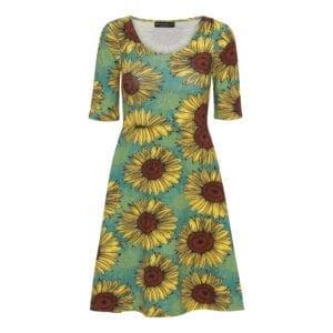 Betty Dress Sunflower