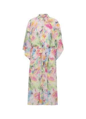 Kristina Kimono dress, pink palette