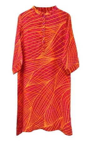 Jennifer dress silk Orange Structure