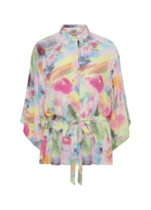 Kristina Kimono shirt, pink palette