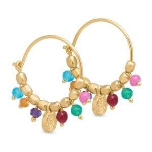 Creol earring gold Multi
