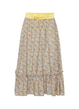 Helena skirt yellow floral