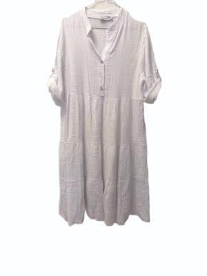 Sally dress Cotton White