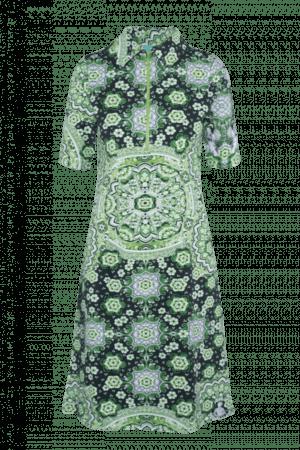 Dress Zipper Green 2170