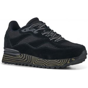 Sophie Marble Sneakers Black