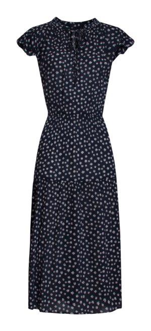 Dress Navy Vintage Fleur 21223