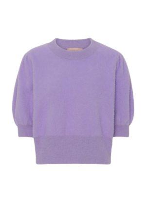 Abira Knit Top Lavender