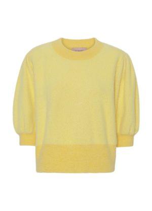 Abira Knit Top Yellow