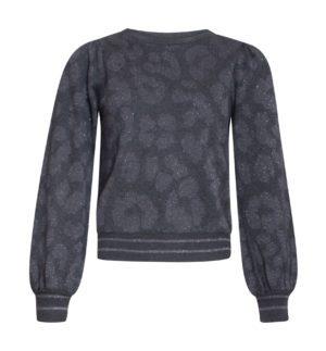 Blouse knit Grey Leo 21731