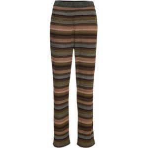 Knit pants, Mira Multi Rib