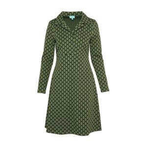 Dress Collar drop green 2160