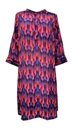 Jennifer dress silk Art Deco