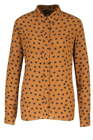 Shirt blouse Polkadot Cinnamon