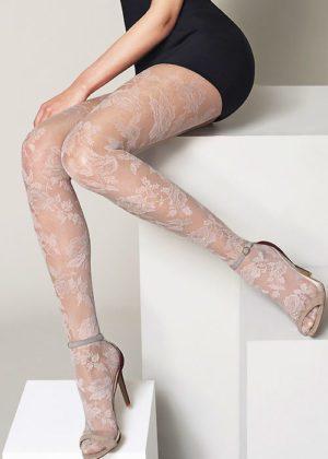 Oroblu Katrina lace Tights Cosmetic