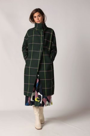 Cara Coat green