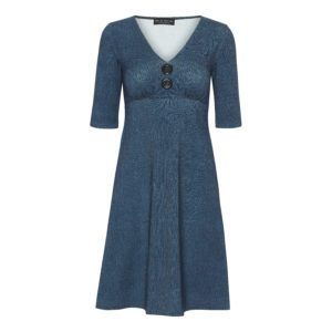 Bibbi Dress Blue denim