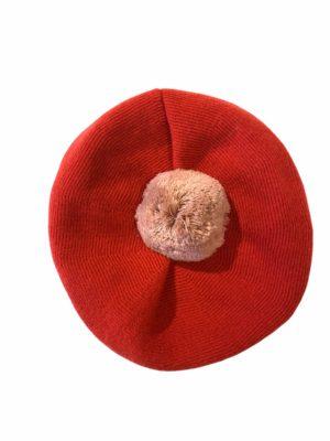 Alpe hue POM POM Casmere Red Rose