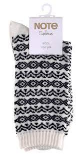 Wool socks Black