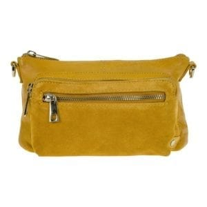 Small Crossover bag/clutch Yellow