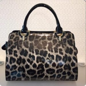 Taske Strass Leopard