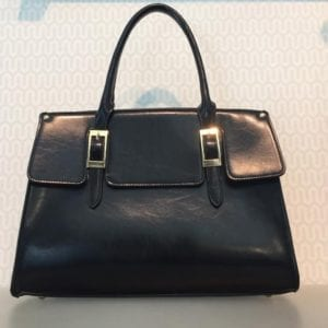 Taske Black Medium Shopper