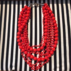 Necklace Big Red