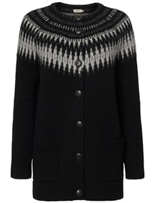 Jumperfabriken Joan cardigan Black