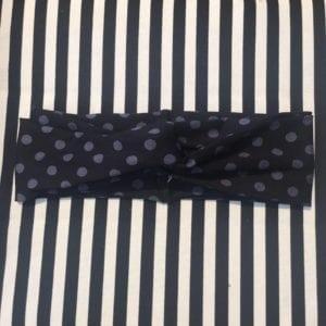 Hårbånd prik black/grey