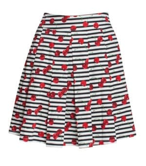 Skirt Cherry stripe