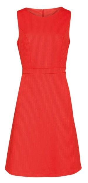 Dress Simple retro orange