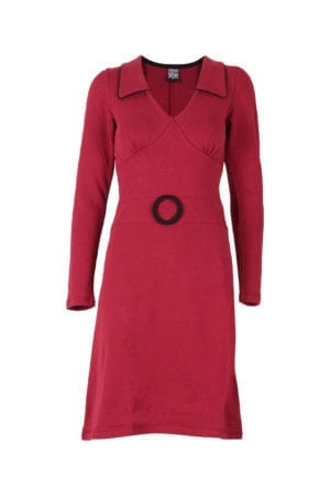 Chloe Dress Burgundy