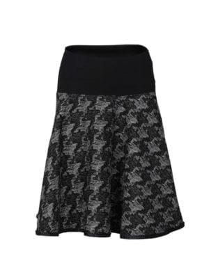 Lola Skirt Grey Jaquard