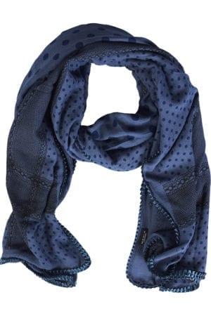 Tørklæde Multi Pattern Blue