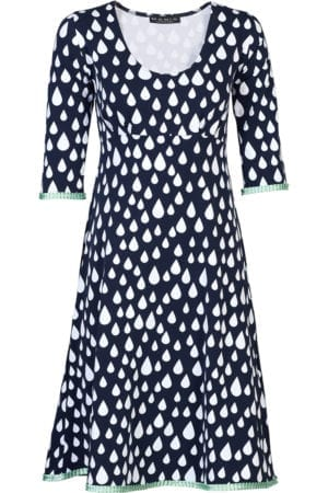 Stella Dress Drop Navy