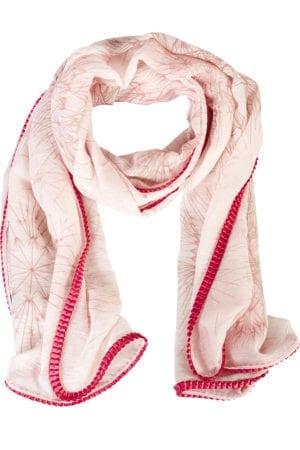 Tørklæde dandellion Pink