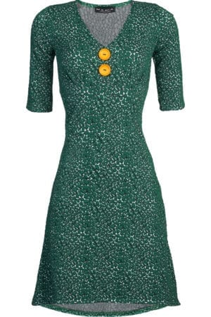 Pin-up dress winter Green  m/æ