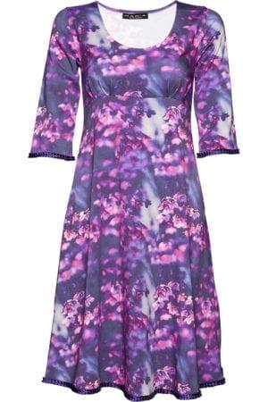 Yvette Dress Lilac Fleur
