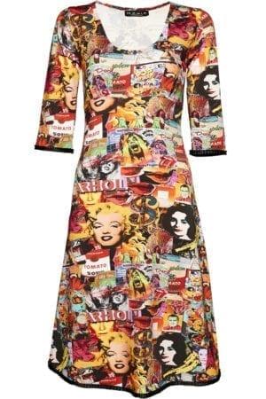 Stella Dress Warhol, multi