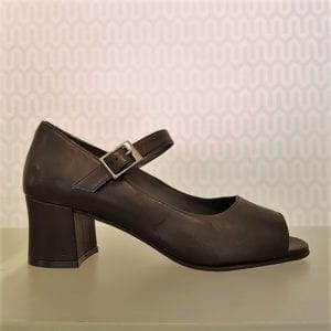 Anna 1 Shoe Black Leather