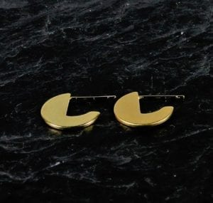 Goldie øreringe Guld