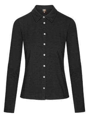 WTG Steen shirt, black