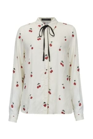 Catrina Winterberry Cherry Shirt
