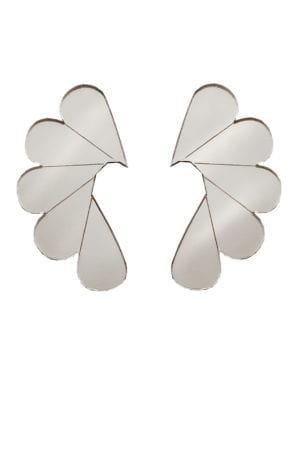 Cry me a river- earring Mirror silver
